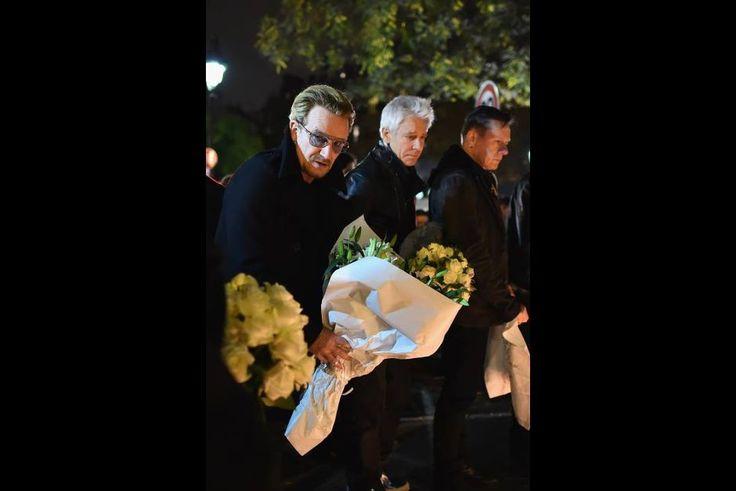 Paris bombings - Bono and U2 have gathered in Paris