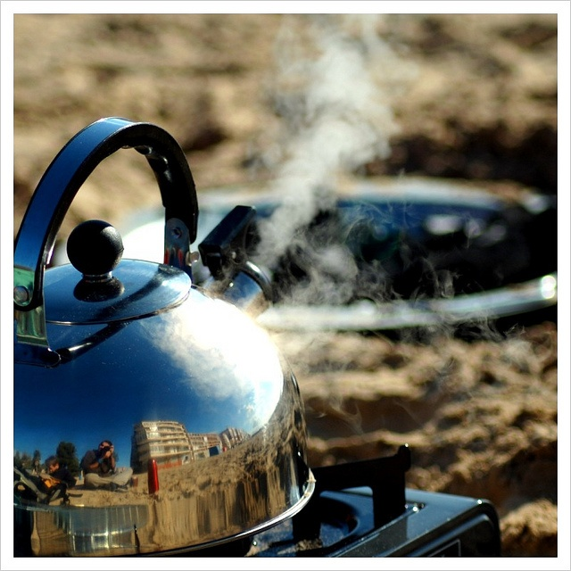 Kettle Reflection -  Playa Acequion, #Torrevieja #Spain #España