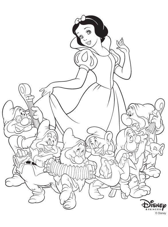 Lots of very nice colouring pages, including some Disney ones.