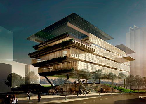 Primer edificio cero energía de latinoamérica