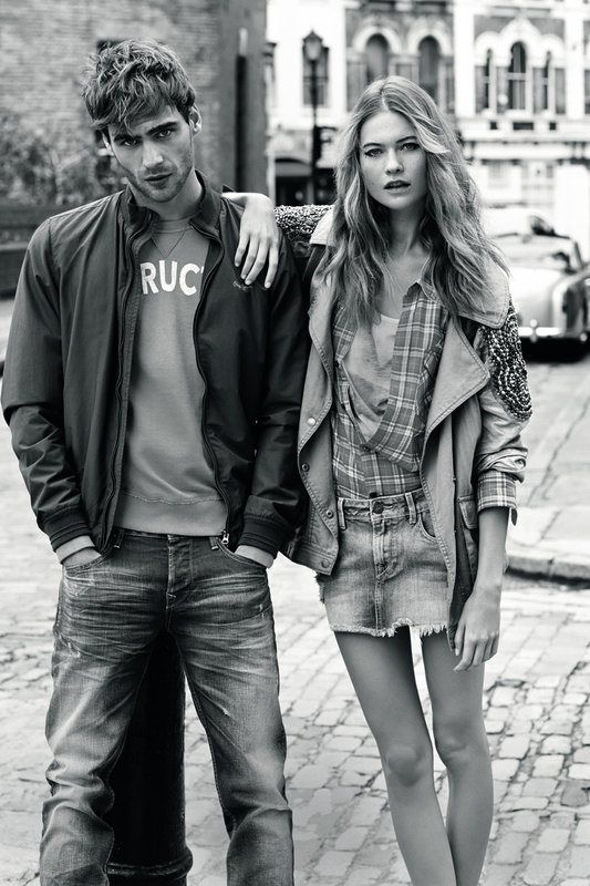 pepe jeans spring 2014 campaign2 Behati Prinsloo Stars in Pepe Jeans London Spring/Summer 2014 Campaign