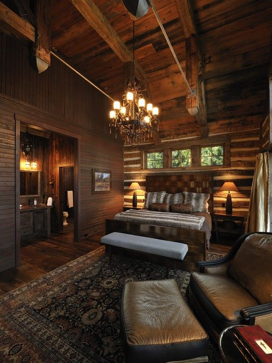 Best Rustic Master Bedrooms Images On Pinterest Dream Bedroom