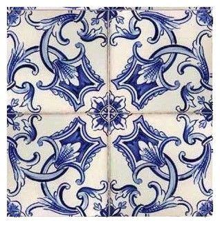 Galleries - A3-Dutch design tiles - 416-Rosendaal ensemble