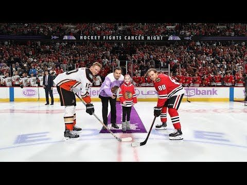 Watch highlights from the Blackhawks' Hockey Fights Cancer Night at the United Center on Nov. 27.