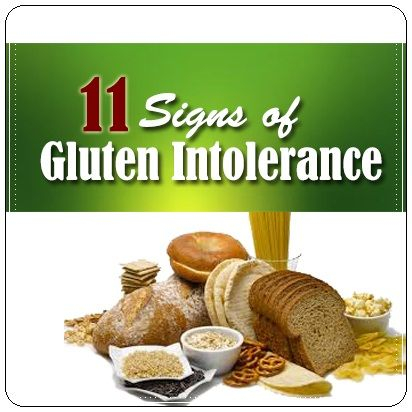 How do you know that you are intolerant of gluten?