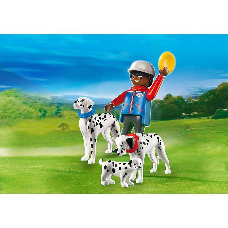Playmobil City Life Rodzina dalmatyńczyków, 5212, klocki