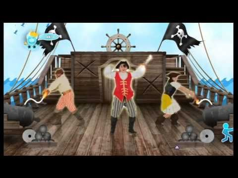 "▶ Just Dance Kids 2014 - ""A Pirate You Shall Be"" - 5,265 + Score - YouTube"