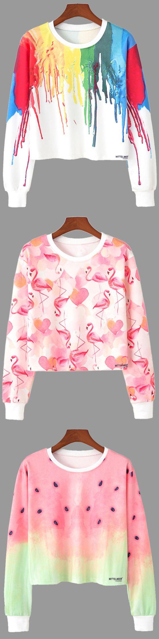 Up to 68% OFF! Crew Neck Splatter Print Sweatshirt. Zaful,zaful.com,zaful fashion,tops,womens tops,outerwear,sweatshirts,hoodies,hoodies outfit,hoodies for teens,sweatshirts outfit,long sleeve tops,sweatshirts for teens,winter outfits,fall outfits,tops,sweatshirts for women,women's hoodies,womens sweatshirts,cute sweatshirts,floral hoodie,crop hoodies,oversized sweatshirt, halloween costumes,halloween,halloween outfits,halloween tops,halloween costume ideas. @zaful Extra 10% OFF Code:ZF2017