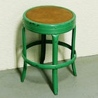 Vintage Metal Kids Stool by Moxie Thrift - traditional - kids chairs - Etsy
