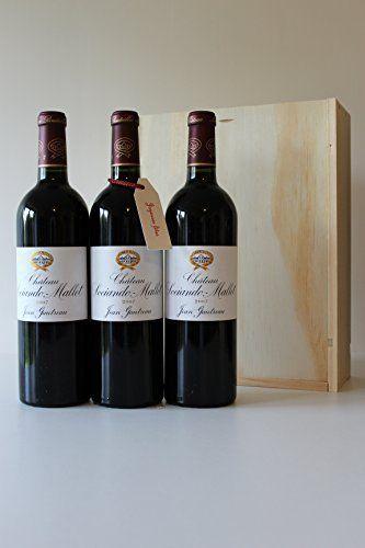 Coffret Noël 3 bouteilles Ch. Sociando Mallet 2007 Haut Médoc: Sociando Mallet Haut Médoc