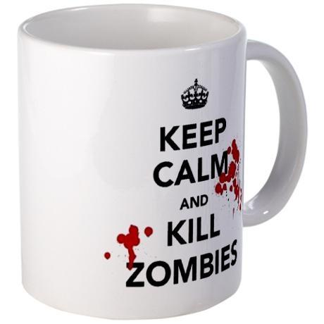 Keep Calm & Kill Zombies Mug