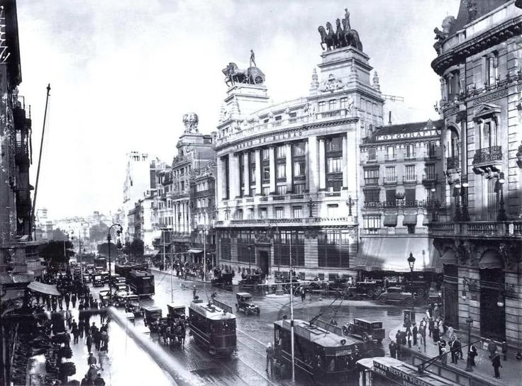 1000 images about madrid 1920 on pinterest madrid for Hotel calle sevilla madrid