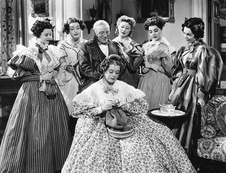 Mary Boland knitting in Pride & Prejudice (1940)