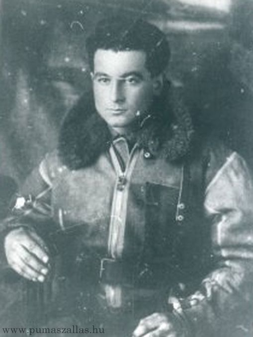 Dezső Szentgyörgyi, Warrant Officer of Royal Hungarian Air Force, top scorer with 32 individual victories and 1 shared.
