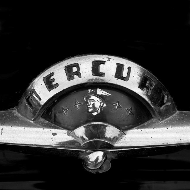 Mercury Emblem 1940s To Mid 1950s The Vanishing American