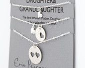 Mother Children Necklace Set. Sons. Daughters. by erinpelicano