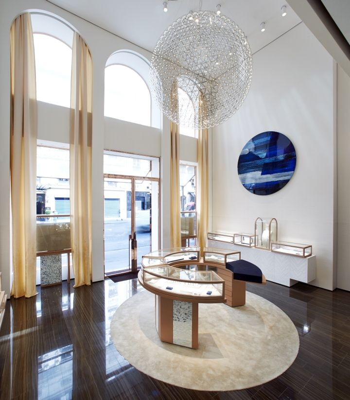 Fred Jewellery Boutique by Malherbe Design, Paris - France. Visit City Lighting Products! https://www.facebook.com/CityLightingProducts