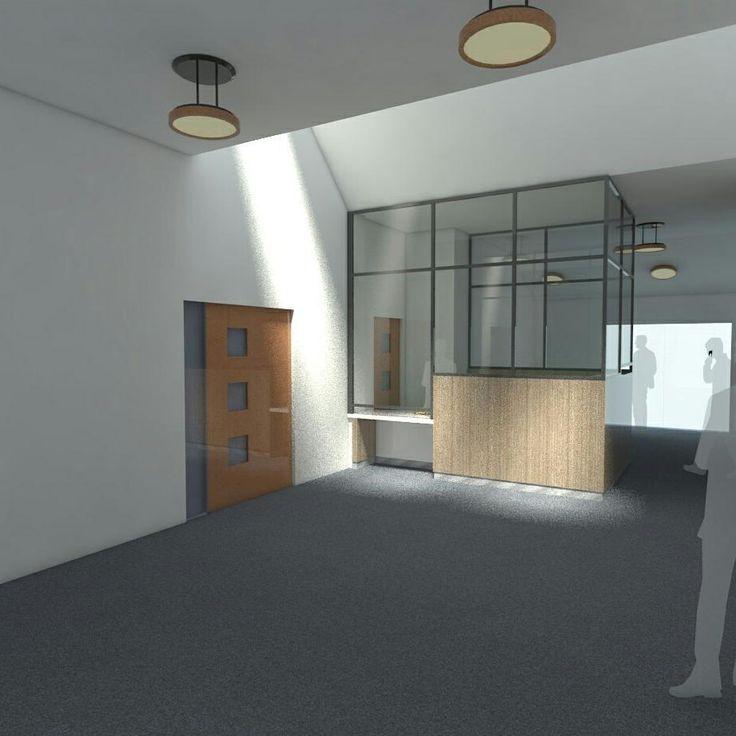 small reception desk 36