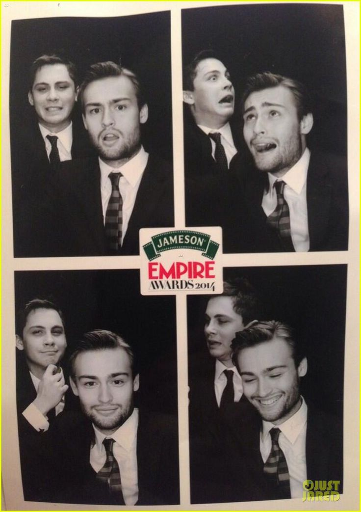 Douglas Booth & Logan Lerman- Jameson Empire Awards 2014!
