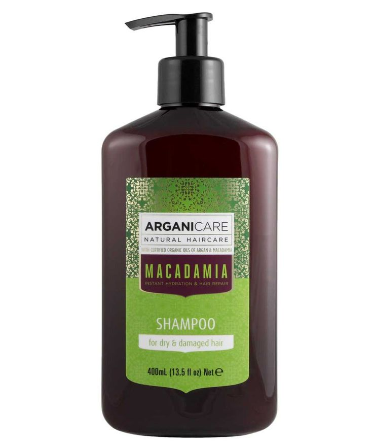 Arganicare Hydrating Macadamia Shampoo, for Dry and Damaged Hair with Organic Argan and Macadamia Oil (13.5 Fluid Ounce) >>> Find out more at the image link. #hairstyle