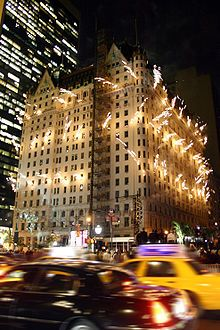 the Plaza Hotel. always makes me think of macaulay culkin & the movie home alone. :) #NYCLove