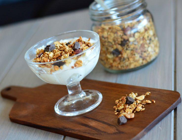 Sukkerfri luksus-granola (Bakekona)