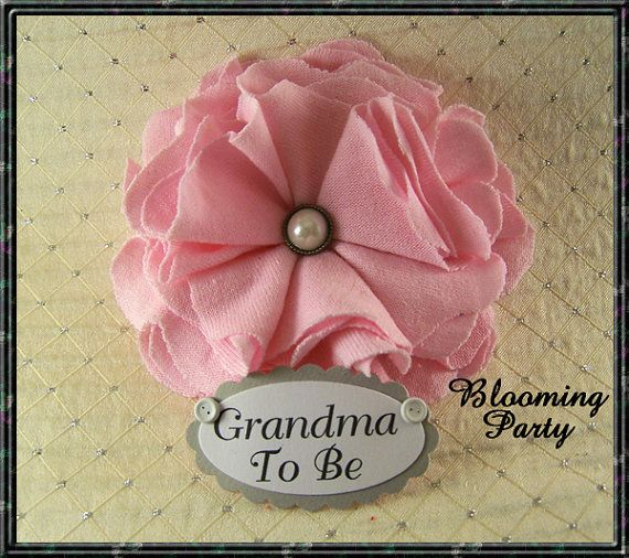 Any Color or Name Corsage Personalized Grandma To by BloomingParty