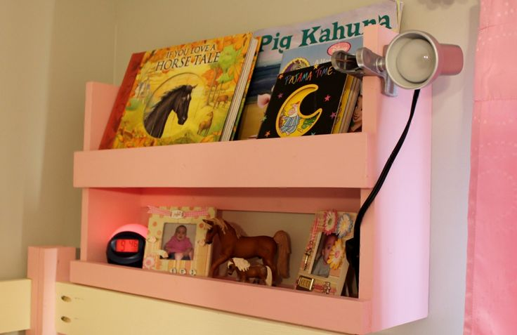 Bunk Bed Shelf Organizer | Do It Yourself Home Projects from Ana White