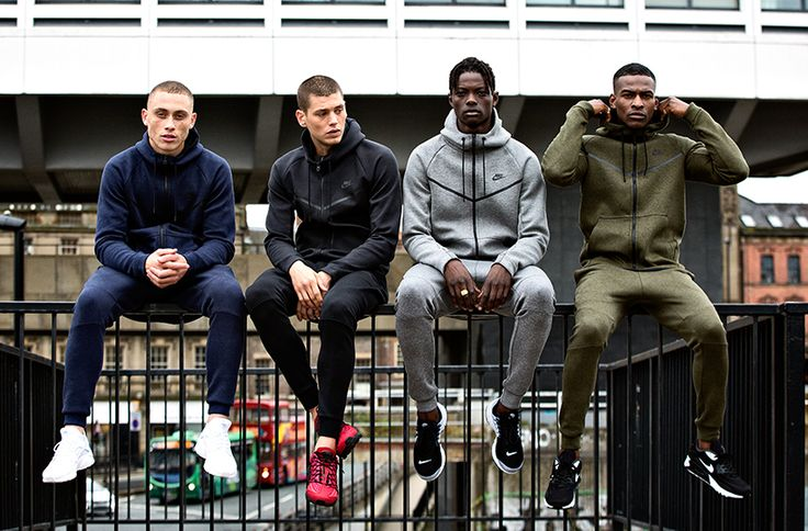 We hit the streets in the latest Nike Tech Fleece gear www.buzzblend.com