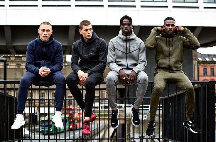We hit the streets in the latest Nike Tech Fleece gear http://www.buzzblend.com