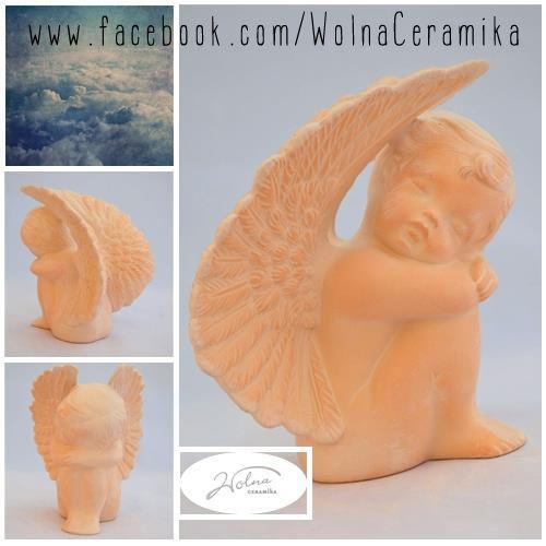 Sculpture of angel.