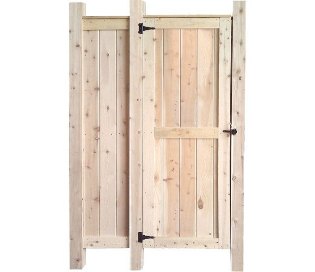 KIT INCLUDES: TWO LARGE WALLS, ONE SMALL WALL, ONE DOOR, HARDWARE PACK (hinges, latch, and timberloks), and THREE 8' POSTS.: Outside Shower, Shower Kits, Maine Houses, Outdoor Showers, Outdoor Showerfsba, Shower Fsbas Kits, Outdoor Shower Fsbas, Houses Mount, Beaches Houses