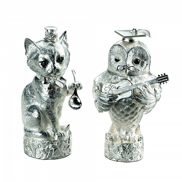 1000 images about owl and pussycat on pinterest - Owl salt and pepper grinders ...