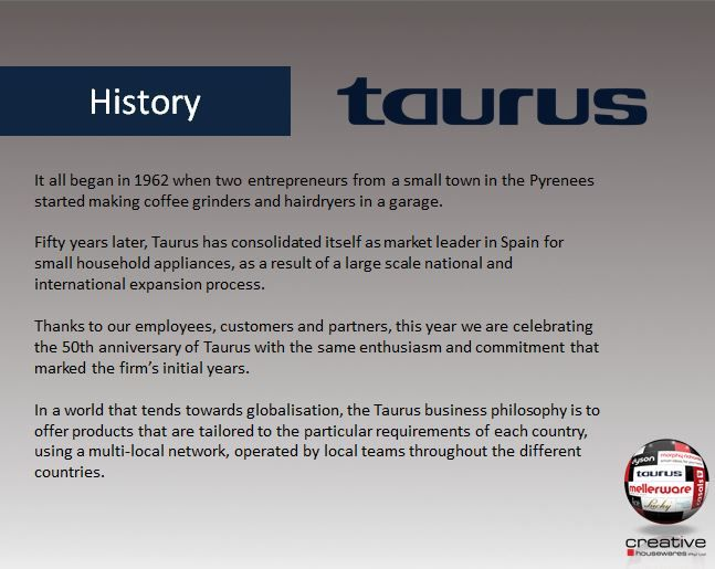 Taurus History