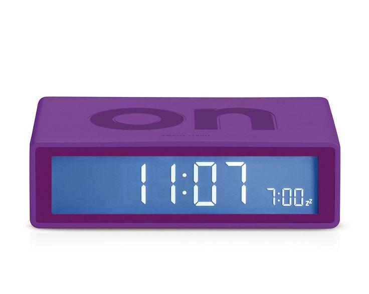 FLIP Alarm Clock (purple)