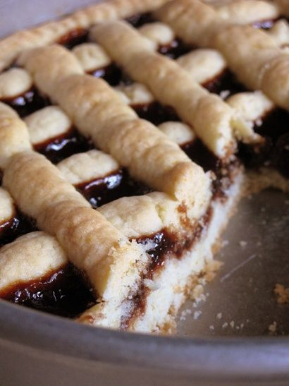 Italian Jam Crostata Recipe — Dishmaps