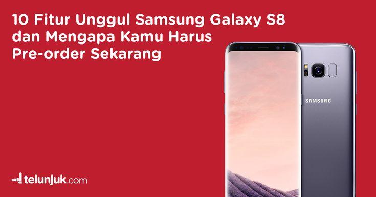 Setelah tampil mengecewakan tahun lalu bersama seri sebelumnya, Samsung kembali menghebohkan dunia dengan duo flagship terbaru mereka Samsung Galaxy S8 dan S8+. Dari pantauan tim Telunjuk, Samsung Galaxy S8 memiliki 10 fitur unggul dibanding rival mereka seperti iPhone atau fitur-fitur yang tidak dimiliki oleh produk Apple tersebut.