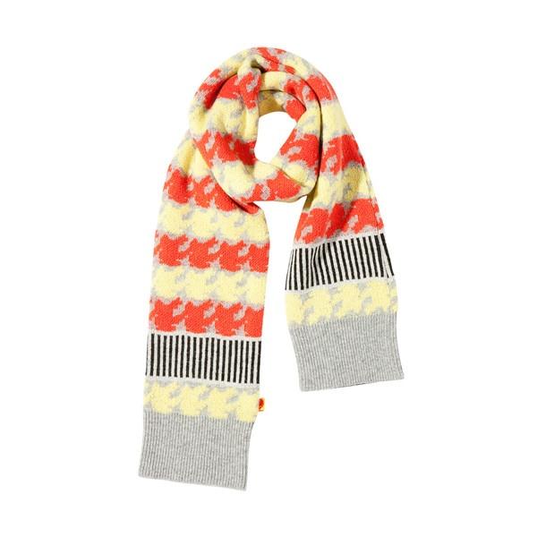 [럭키슈에뜨] Lucky Chouette Knit Muffler ❤ liked on Polyvore
