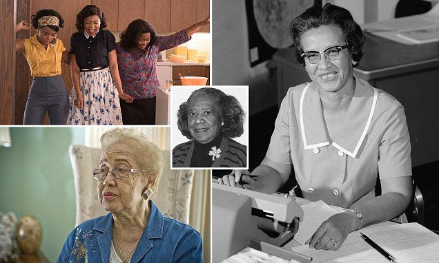 Hidden Figures reveals story of black female Nasa  scientists     #DailyMail | These are some of the stories. See the rest @ http://www.twodaysnewstand.com/mail-onlinecom.html or Video's @ http://www.dailymail.co.uk/video/index.html And @ https://plus.google.com/collection/wz4UXB