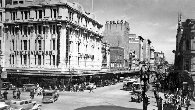 Leviathan Department Store c. 1940's Melbourne, Victoria.