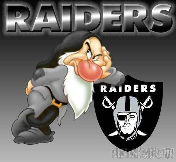 Grumpy Raiders R Id R N Ti0n B B 165 Nfl Raiders
