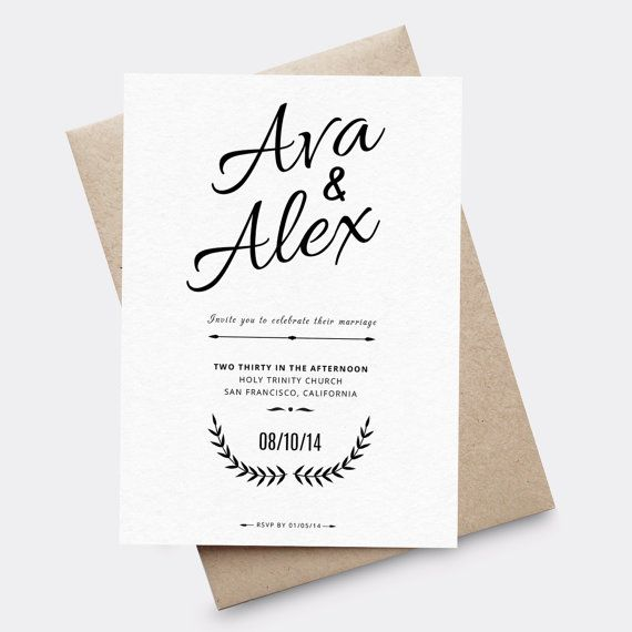 46 best Wedding Invites images on Pinterest Paper goods, Black - coupon templates for word