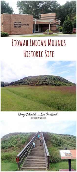 A family visit to the Etowah Indian Mounds Historic Site in Northwest Georgia