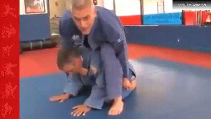 Jiu Jitsu Choke Hold Demo Gone to Far #jiujijsu #judo #martialarts