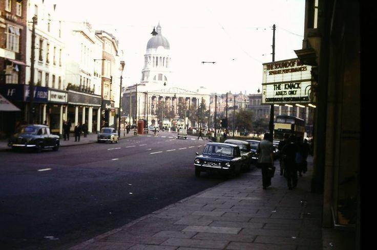 Nottingham City Centre 1960's