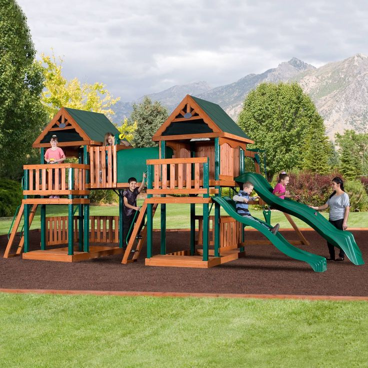 how to move a wooden swing set 3