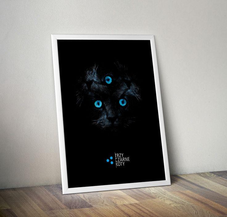 tree black cats