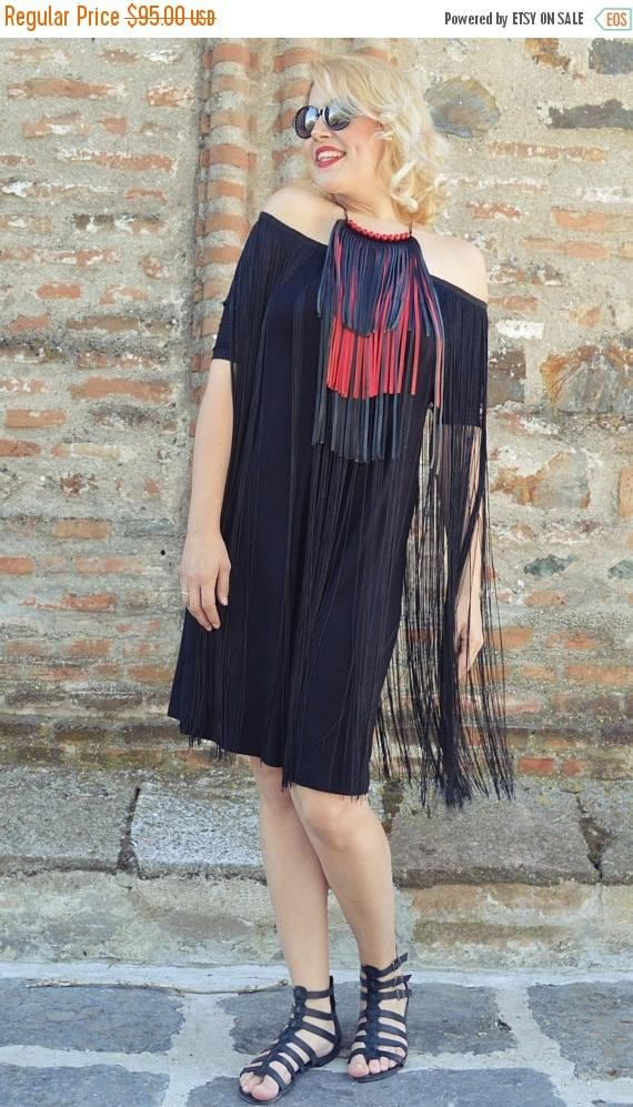 SALE 40% OFF Black Fringe Jumpsuit Short Summer Jumpsuit with https://www.etsy.com/listing/527720171/sale-40-off-black-fringe-jumpsuit-short?utm_campaign=crowdfire&utm_content=crowdfire&utm_medium=social&utm_source=pinterest