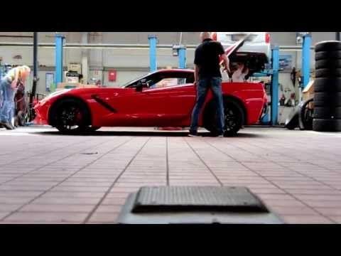 Chevrolet Corvette C7 Stingray has landed in Europe: Patrick Herrmann - Faces of GM