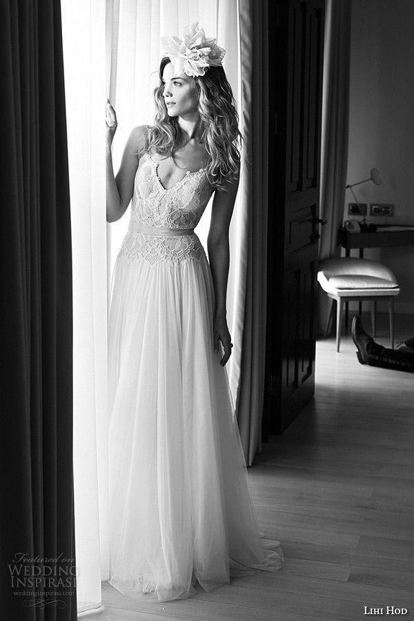 Popular Lihi Hod Wedding Dresses u Film Noir in White Bridal Collection